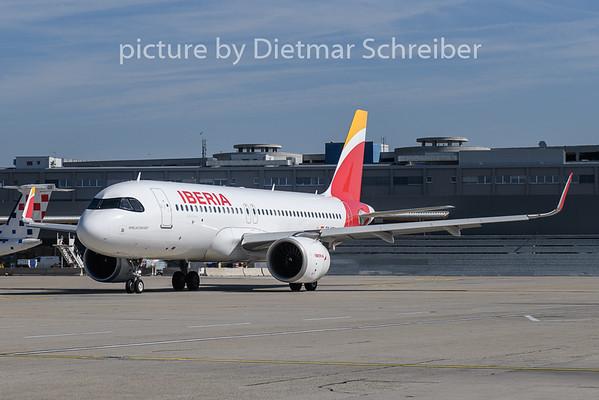 2019-06-26 EC-NCM Airbus A320neo Iberia