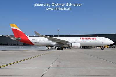 2021-09-23 EC-LUX Airbus A330-300 Iberia