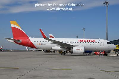 2021-10-11 EC-MXY Airbus A320neo Iberia