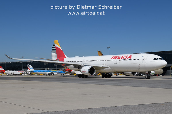 2021-09-09 EC-LYF Airbus A330-300 Iberia