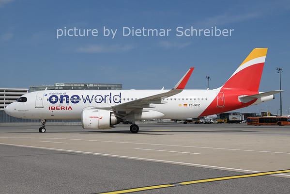 2021-08-12 EC-NFZ Airbus A320neo Iberia
