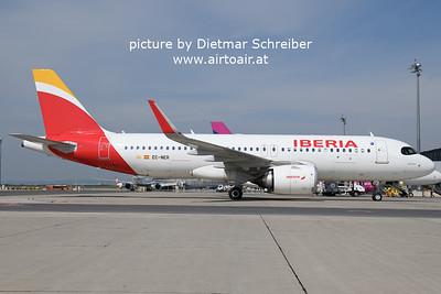 2021-05-22 EC-NER Airbus A320neo Iberia