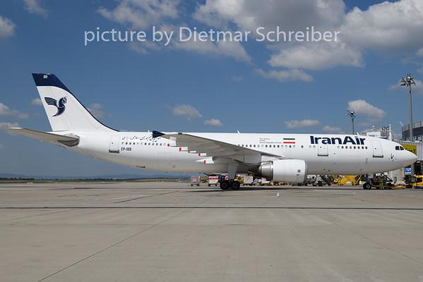 2018-07-25 EP-IBB Airbus A300 Iran Air