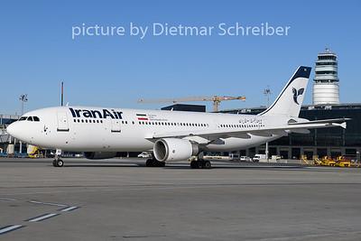 2019-12-11 EP-IBA Airbus A300-600 Iran Air