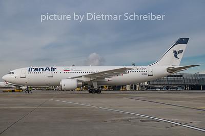2019-01-19 EP-IBA AIrbus A300-600 Iran Air