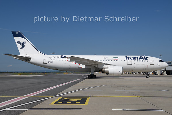 2021-08-11 EP-IBC Airbus A300-600 Iran Air