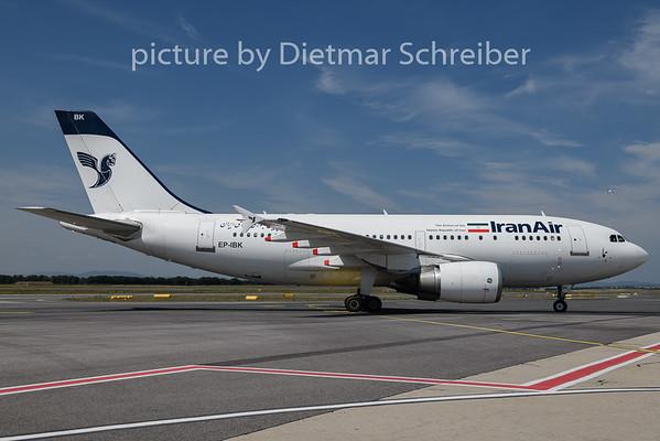 2019-07-17 EP-IBK Airbus A310 Iran Air