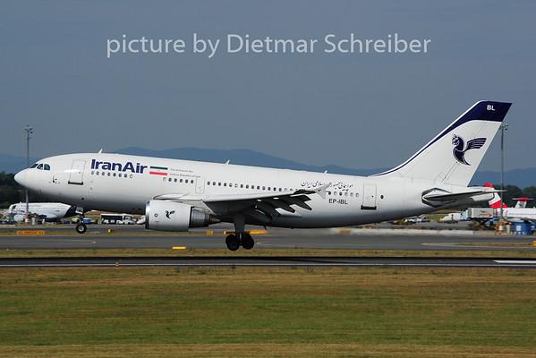 2014-06-28 EP-IBL Airbus A310 Iran Air
