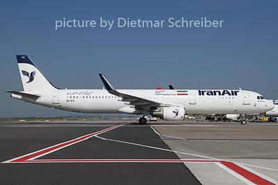 2018-08-01 EP-IFA Airbus A321 Iran Air