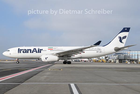 2020-01-22 EP-IJB Airbus A330-200 Iran Air
