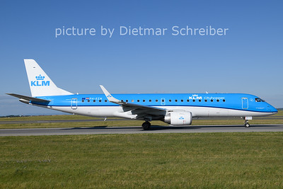 2021-06-13 PH-EZN Embraer 190 KLM