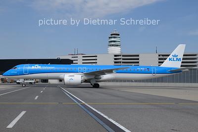 2021-08-12 PH-NXD Embraer 195E2 KLM Cityhopper