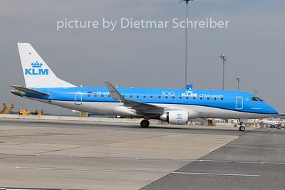 2020-05-17 PH-EXS Embraer 175 KLM