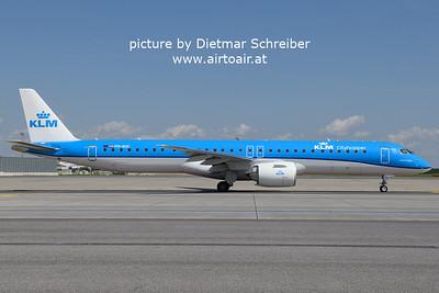 2021-08-20 PH-NXC Embraer 195E2 KLM Cityhopper