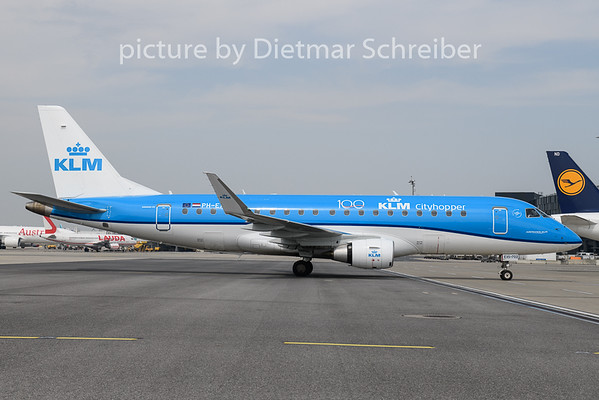 2020-05-17 PH-EXS Embraer 175 KLM