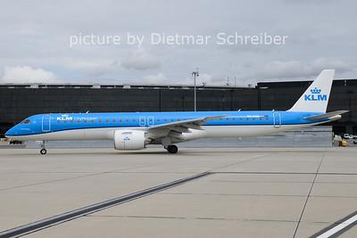 2021-08-04 PH-NXD Embraer 195E2 KLM Cityhopper
