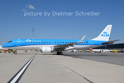 2021-07-29 PH-EZZ Embraer 190 KLM Cityhopper