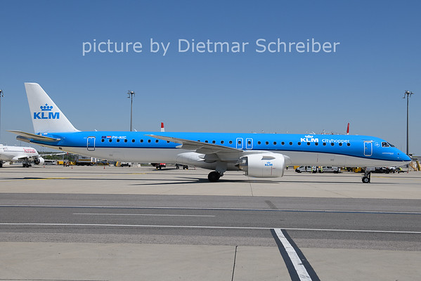 2021-06-17 PH-NXC Embraer 195E2 KLM Cityhopper