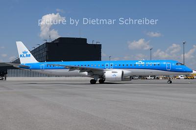 2021-06-07 PH-NXA Embraer 195E2 KLM Cityhopper