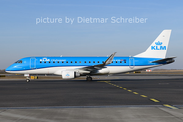 2021-03-07 PH-EXS Embraer 175 KLM Cityhopper