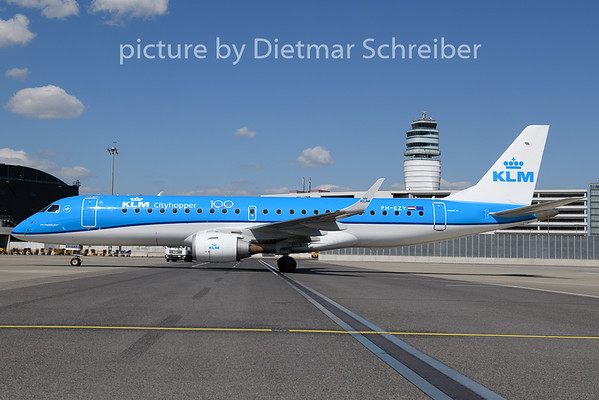 2020-04-26 PH-EZY Embraer 190 KLM