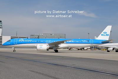 2021-05-22 PH-NXC Embraer 195E2 KLM Cityhopper