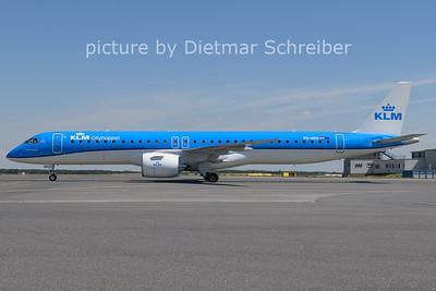 2021-07-16 PH-NXD Embraer 195E2 KLM Cityhopper