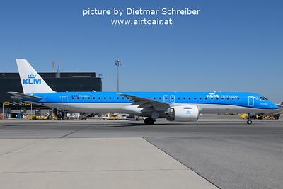 2021-09-09 PH-NXA Embraer 195E2 KLM Cityhopper