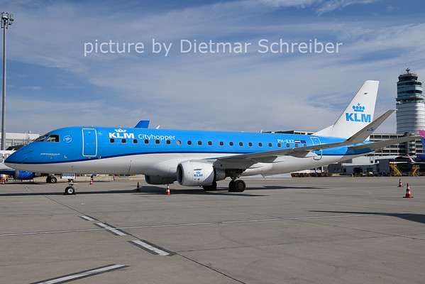 2021-02-28 PH-EXZ Embraer 175 KLM Cityhopper