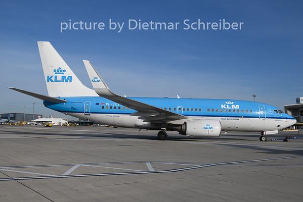 2019-03-04 PH-BGT Boeing 737-700 KLM