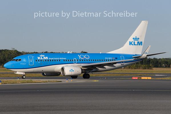2019-08-12 PH-BGI Boeing 737-700 KLM