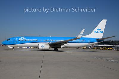 2019-08-15 PH-BXZ Boeing 737-800 KLM