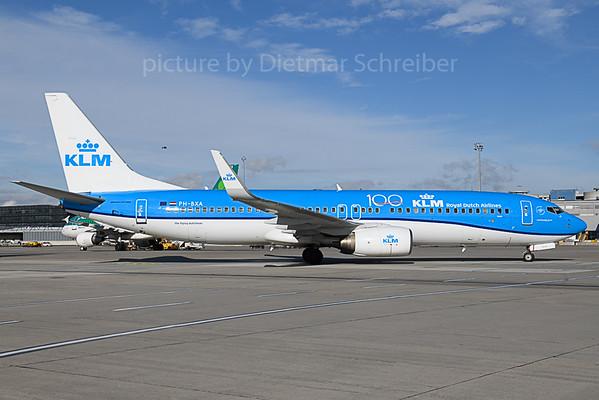 2019-11-14 PH-BXA Boeing 737-800 KLM