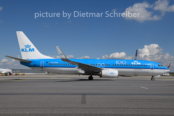 2020-09-03 H-BXG Boeing 737-800 KLM