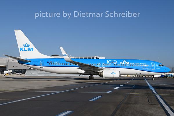 2020-01-23 PH-BXI Boeing 737-800 KLM