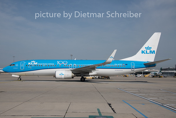 2019-08-05 PH-HSE Boeing 737-800 KLM