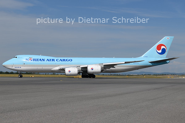 2021-07-16 HL7610 Boeing 747-8 Korean Air