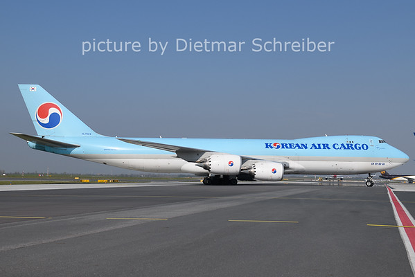 2021-04-27 HL7624 Boeing 747-8 Korean Air