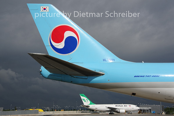 2014-06-20 HL7601 Boeing 747-400 Korean Air