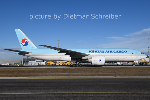 2021-01-22 HL8075 Boeing 777-200 Korean AIr