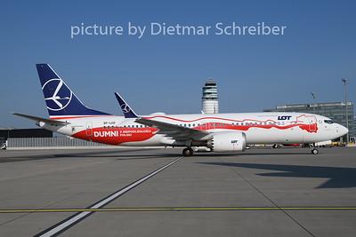 2018-08-21 SP-LVD Boeing 737-800max LOT