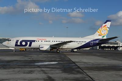 2012-12-07 SP-LLE Boeing 737-400 LOT