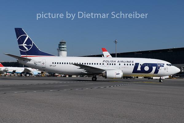 2018-08-13 SP-LLF Boeing 737-400 LOT