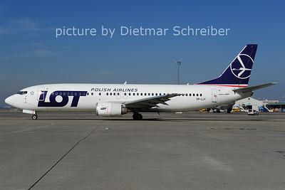 2014-03-11 SP-LLF Boeing 737-400 LOT