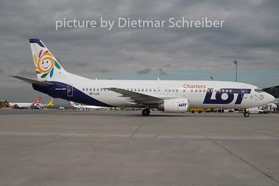 2010-05-07 SP-LLE Boeing 737-400 LOT Caharters