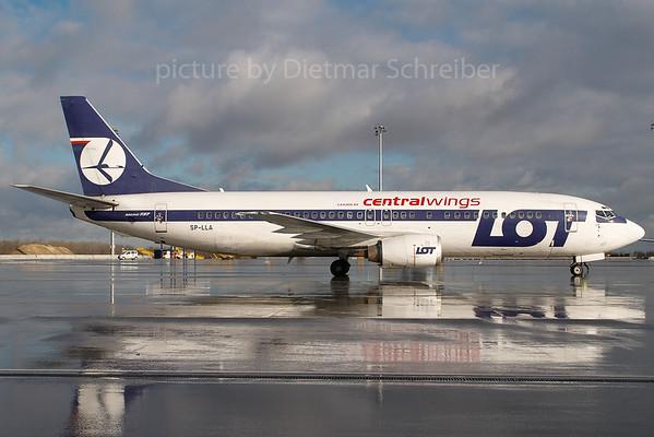 2007-01-29 SP-LLA Boeing 737-400 LOT / Centralwings