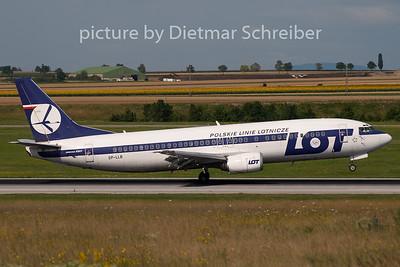 2009-07-13 SP-LLB Boeing 737-400 LOT