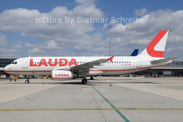 2021-04-23 9H-LMG AIrbus A320 Lauda Europe