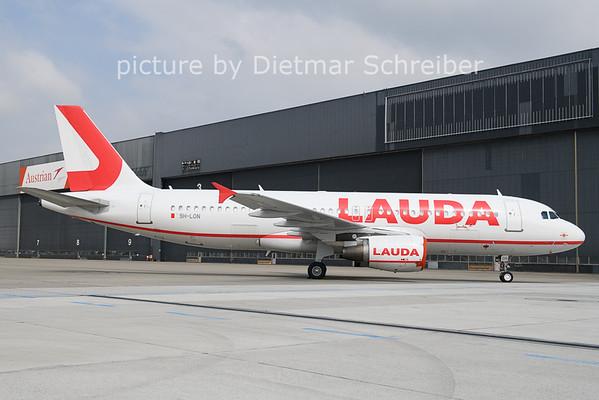 2021-04-20 9H-LON Airbus A320 Lauda Europe