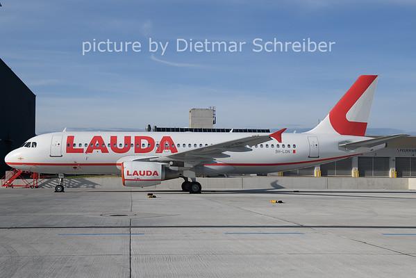2021-05-14 9H-LON AIrbus A320 Lauda Europe